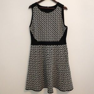 White House Black Market Printed Dress